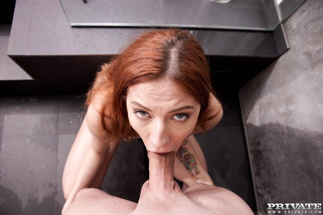 Hanging Tits Pov Blowjob