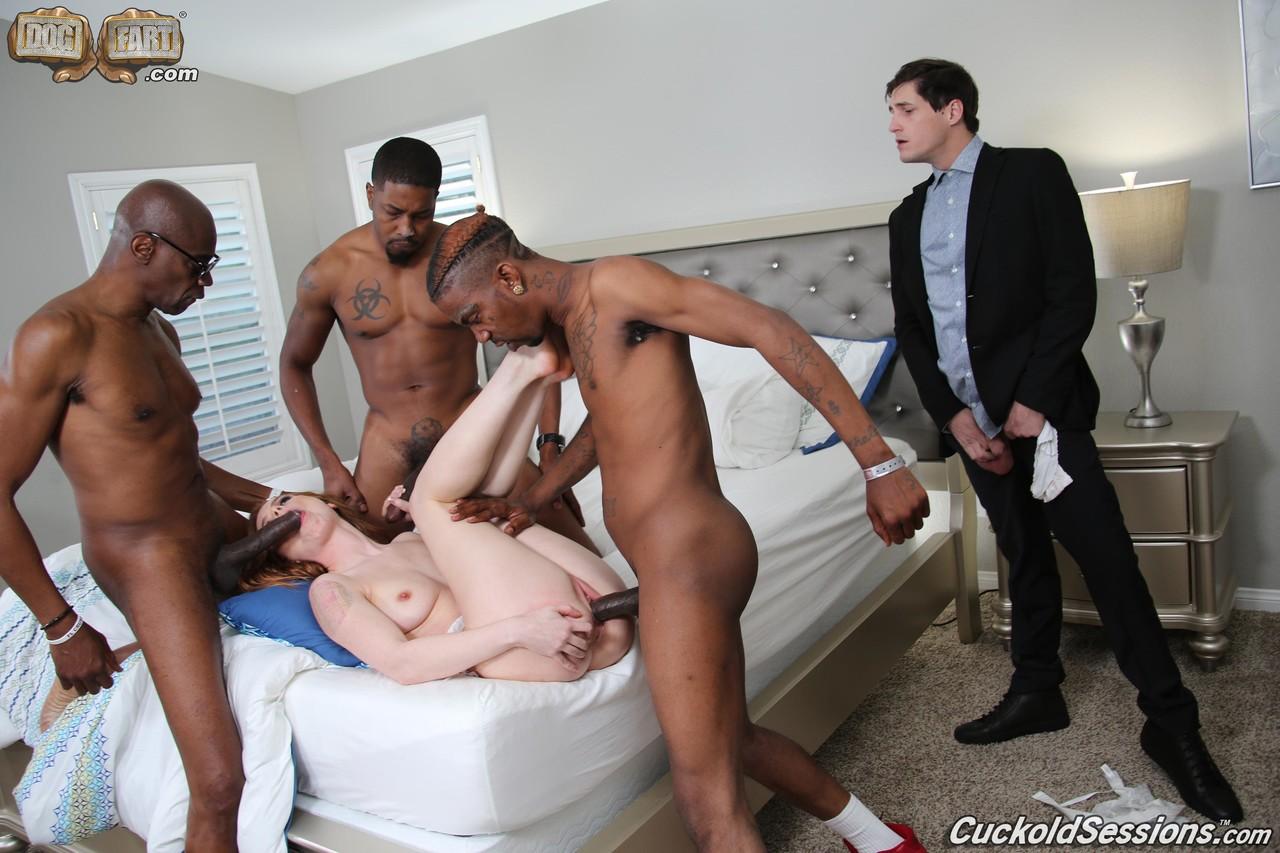 Black Guy Stroking Dick