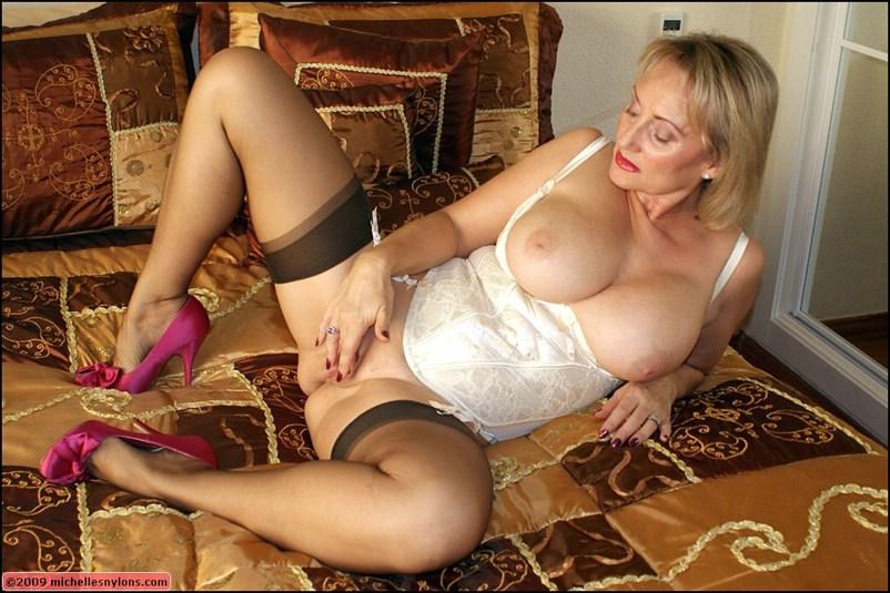 Busty Milf Stockings Creampie