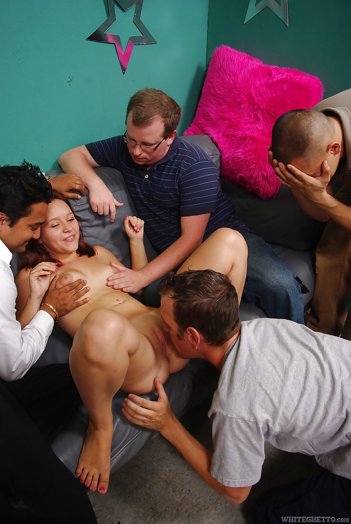 Gangbang Orgie Sperma Party