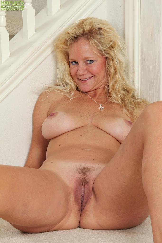 Hot Blonde Cowgirl Big Tits