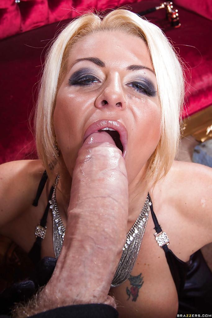 Blonde Big Tit Milf Pov