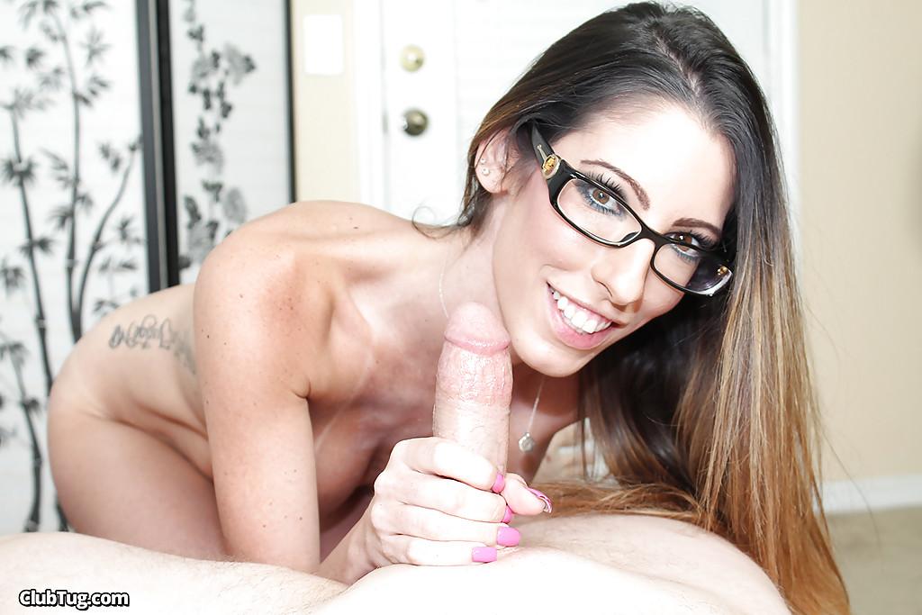 Cute Asian Big Tits Glasses