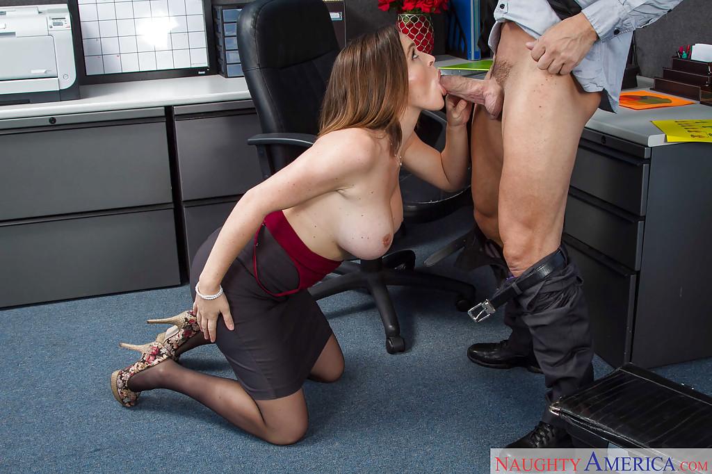 Jessica jaymes office blowjob