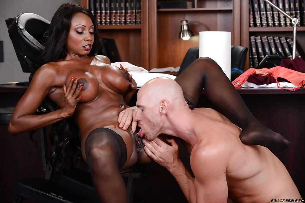 Kinky Leah Gotti Interracial