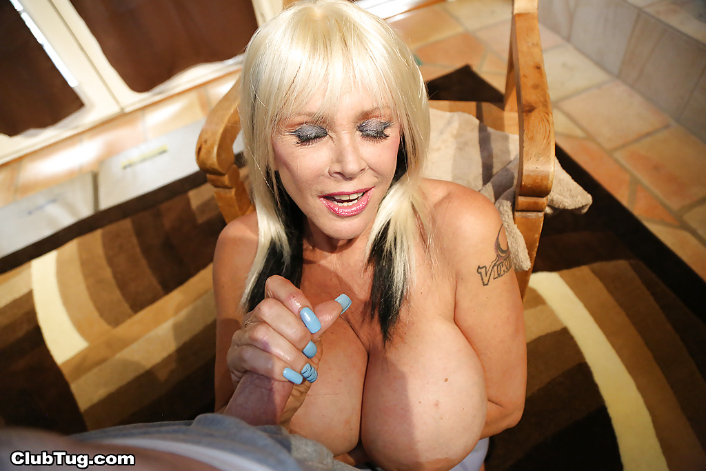 Big Tit Blonde Milf Anal