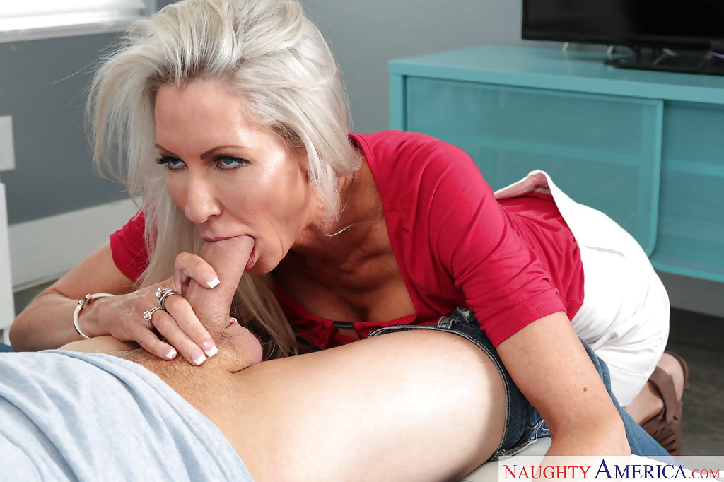Sexy Grey Haired Pleasures A Nasty Rod 1