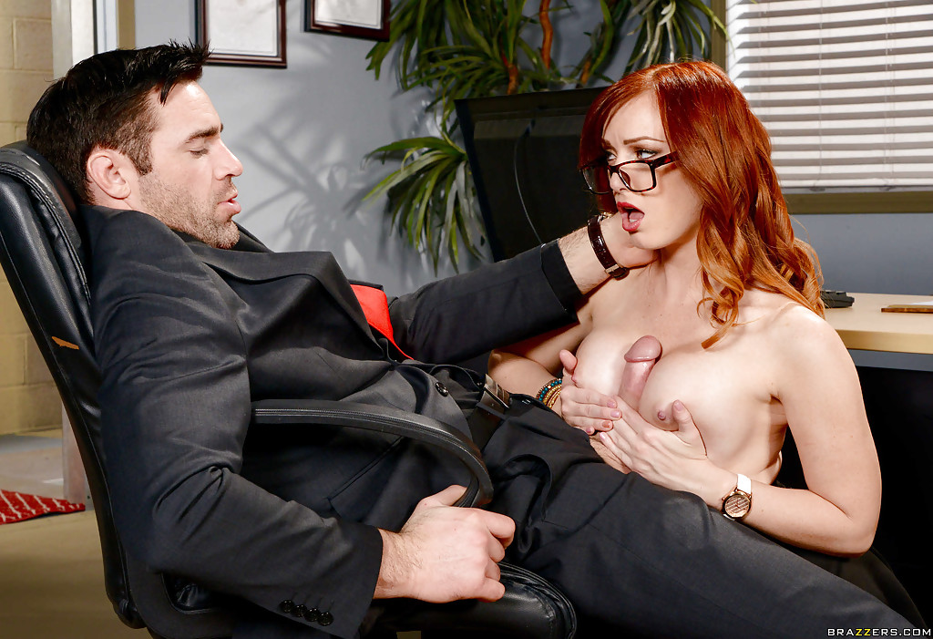 Busty Milf Monique Alexander Fucks With Her Client Inside A Shaved Pussy