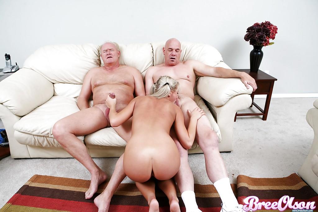 Old Woman Fucks Young Man
