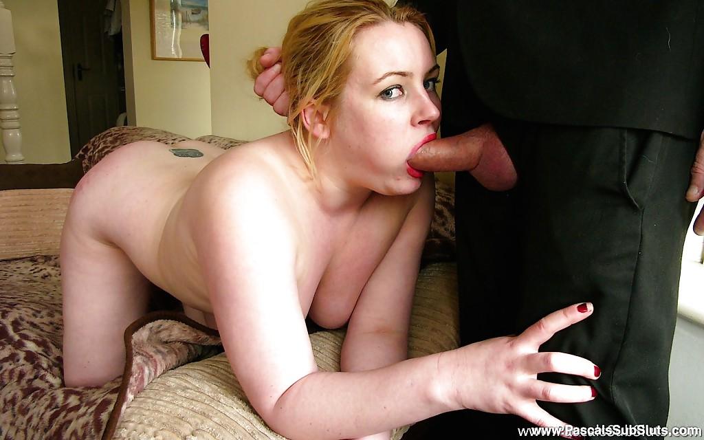 Blonde Blowjob Big Tits