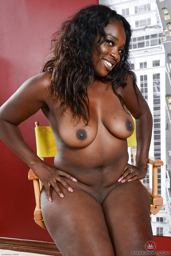 Ebony nude busty Curvy Ebony
