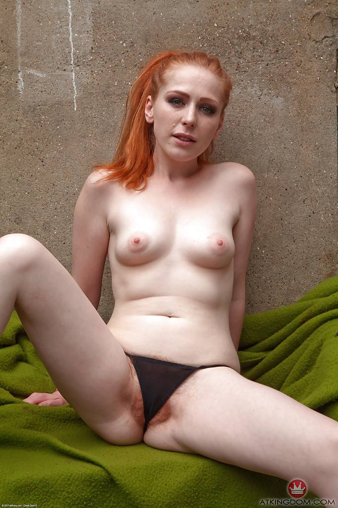 Hairy Pussy Outdoors Solo