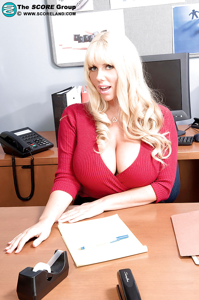 Big Tits Horny Secretary