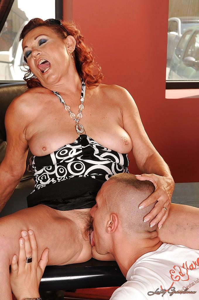 Vintage Redhead Big Tits