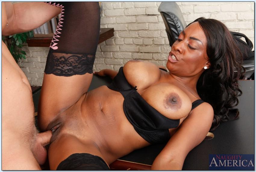 Ebony Milf Seduction