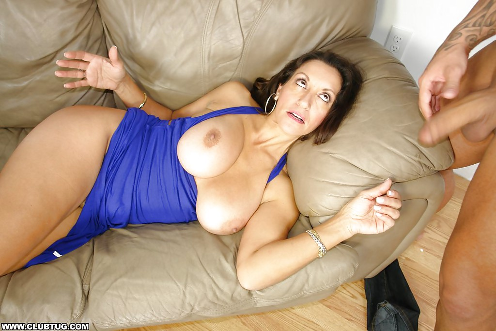 Homemade Big Tits Wife Mature