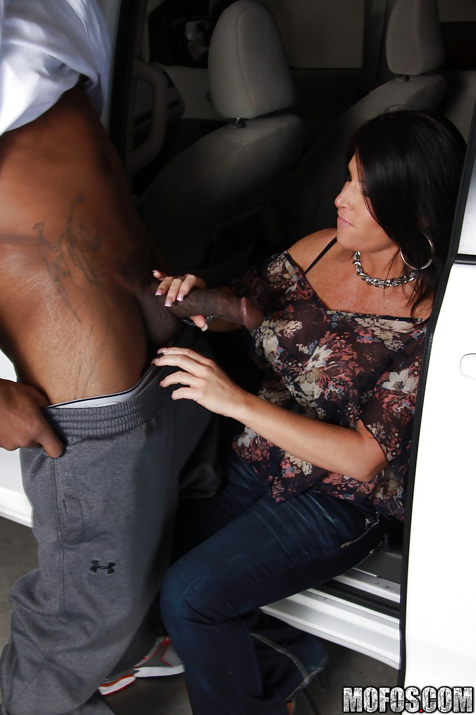 interracial mature pounded