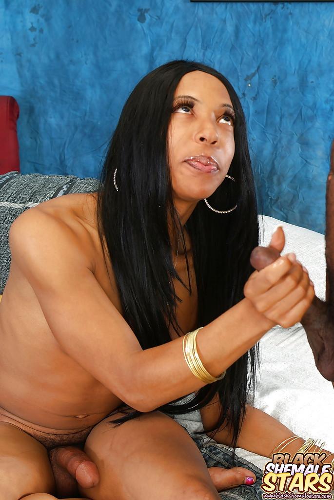 Ebony Bbw Submissive Blowjob