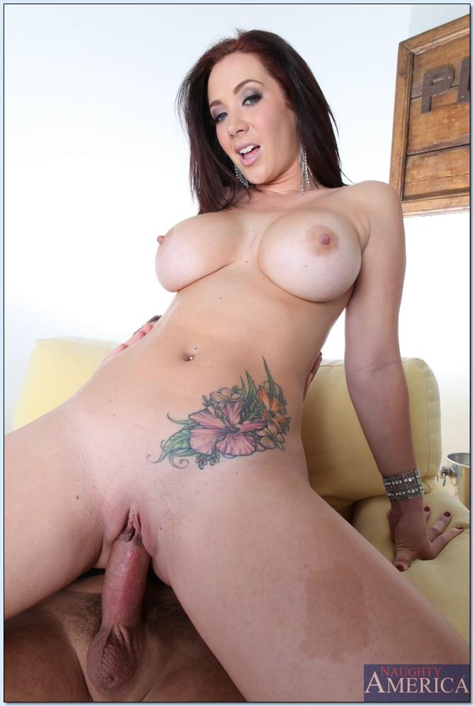Big old tits anal