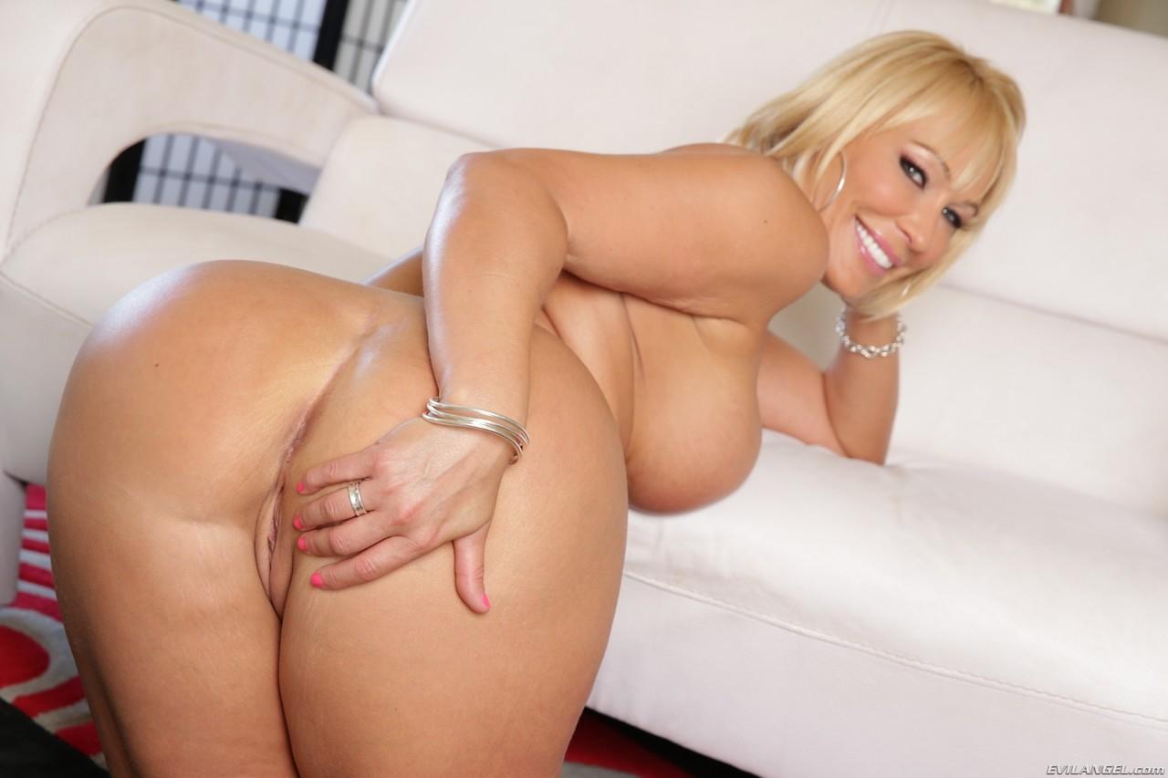 Curvy Mature Blonde Milf