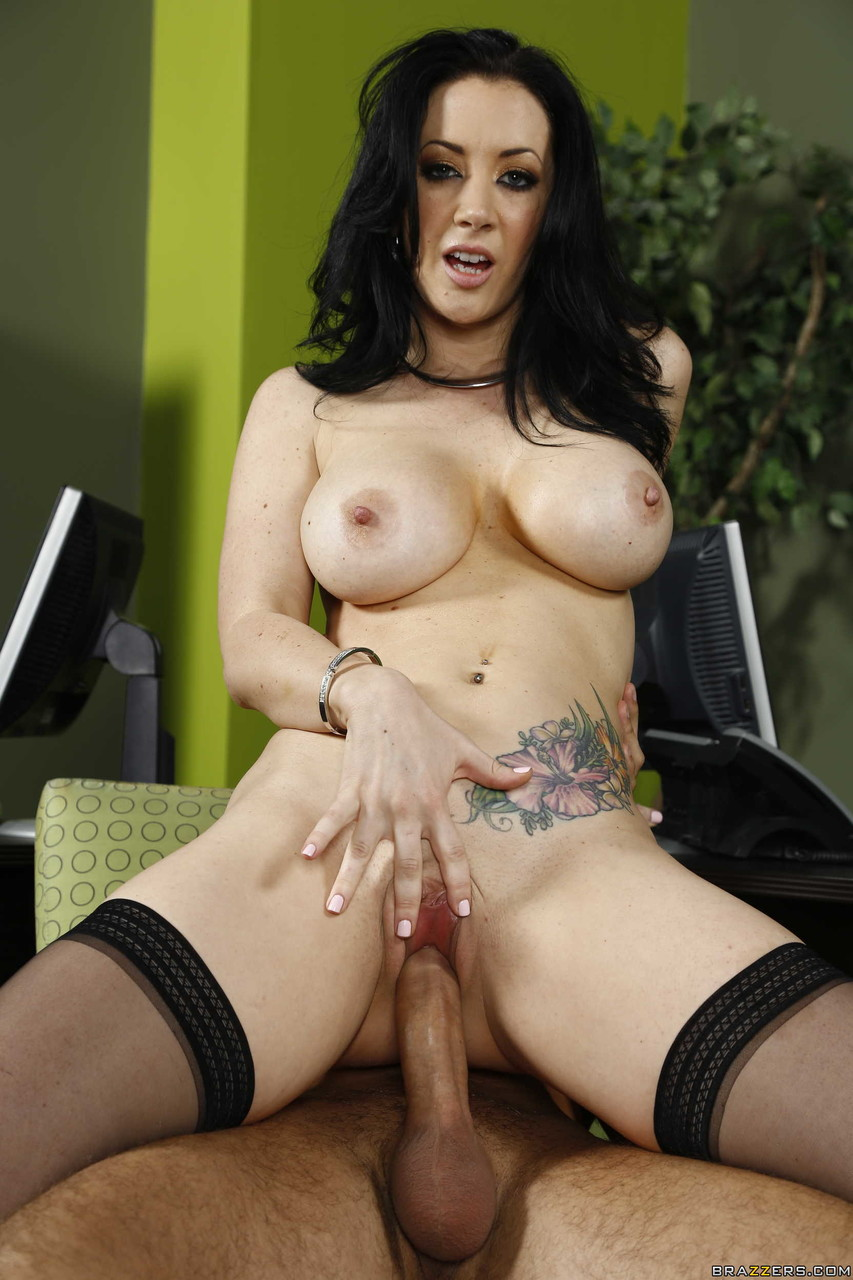 Jayden jaymes big tits at work