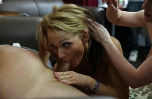 Jennifer White and her friends Lia Lor and Nikki Sexx are having some fun