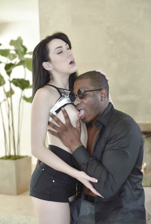 Babysitter Aria Alexander taking hardcore interracial fucking from BBC