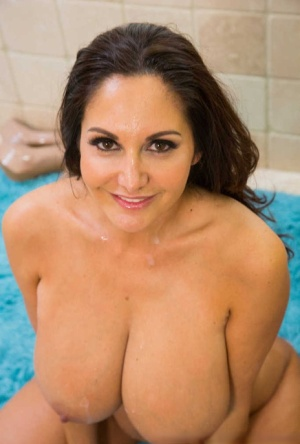 Big tits cougar Ava Addams gets her big jugs fucked and pussy screwed hardcore