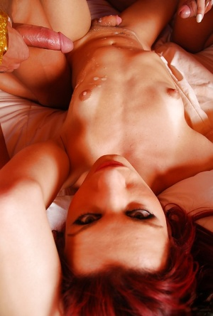 Latina tranny on shemale groupsex with Joy Spears and Nicolly Navarro