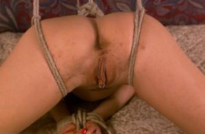 alisha angel bondage