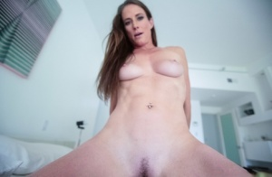 Horny mother seduces and fucks her stepson until she's covered in his sperm