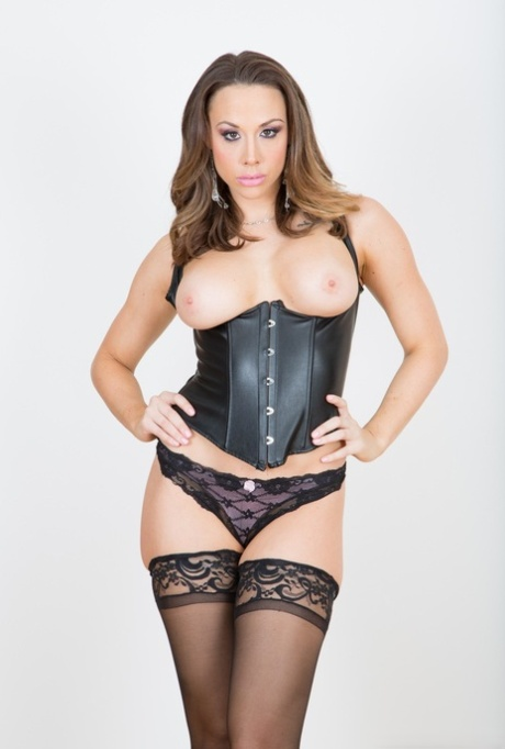 Sexy MILF Chanel Preston is left with a nasty anal gape after a butt fuck