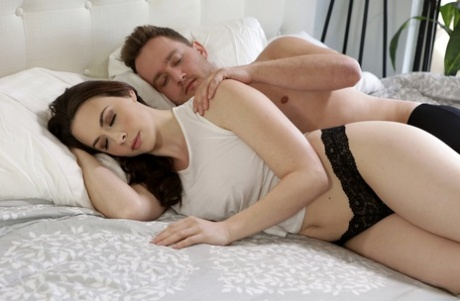 Hot MILF Chanel Preston wakes up horny and wanting to fuck her man friend