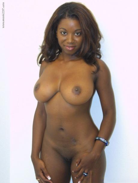 Black Girl Flashing Tits