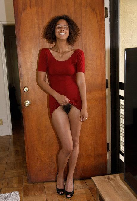 Hairy naked ebony Hairy Ebony Pics Pornpics Com