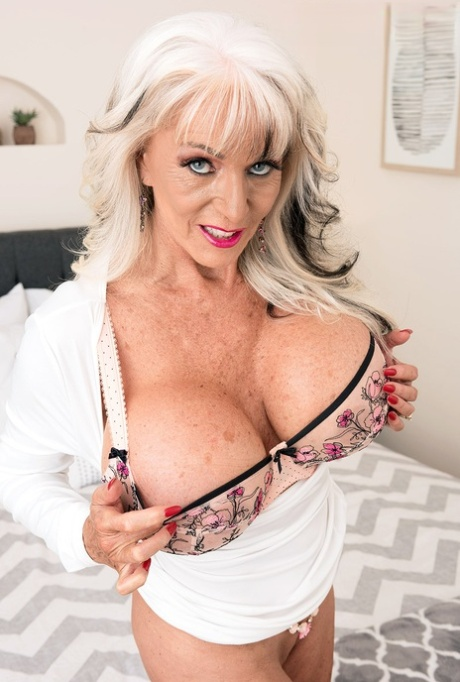 Tits granny fake Old Women