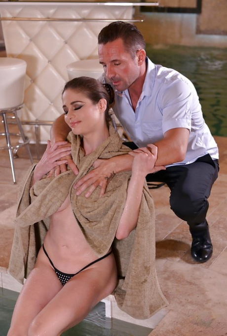Dashing scenes of really hot fucking with big tits beauty Cathy Heaven