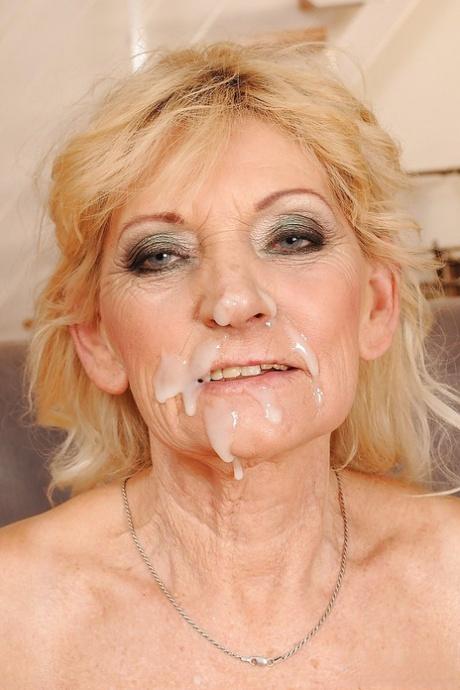 Face granny cum Old Women