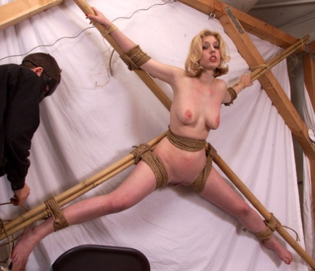 Tied Naked Spread Eagle