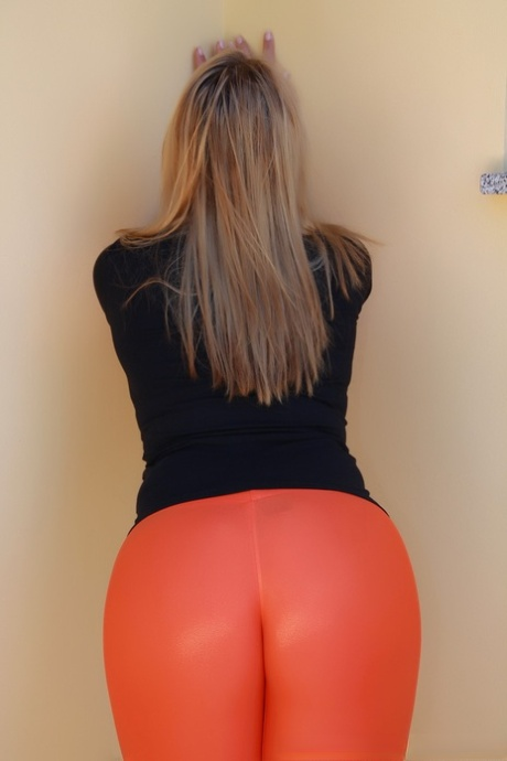 In leggins milf Extremely Tight