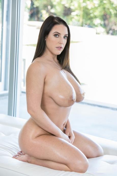 White pornpics angela Angela White