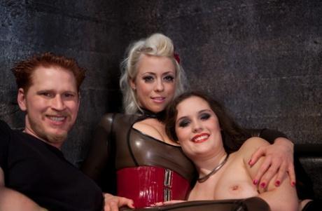 Divine Bitches Charlotte Vale, Lorelei Lee, Zak Tyler