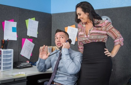 Naughty Office Holly West, Johnny Castle